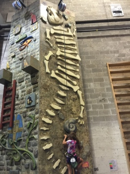 Grace and the Fossil Climb!