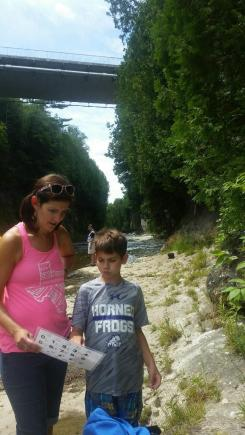 Letterboard in the creek!