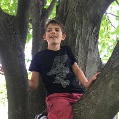 Ryan climbed too!
