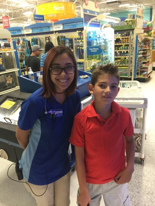 Ryan with Jirenia at Pet Smart in Watauga, TX.