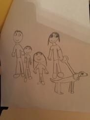 Family Portrait by Grace