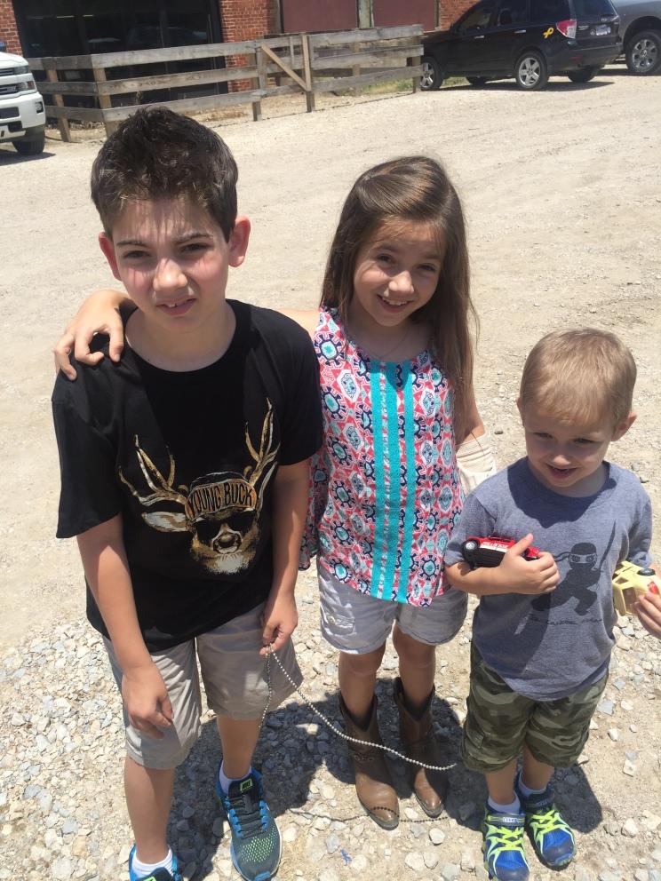 Ryan, Grace, and Bobby!
