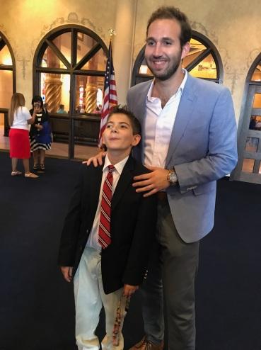 Ryan and Uncle Doug.