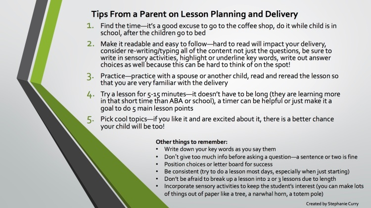 5 Tips From a Parent on Lesson Planning
