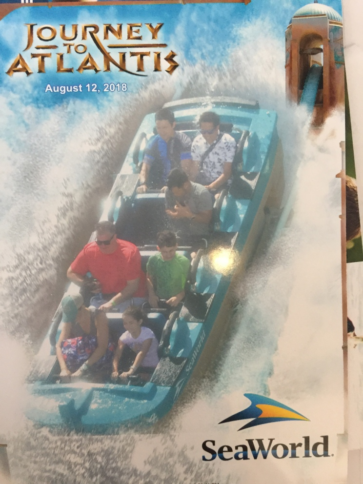 Journey to Atlantis. Even Mom went on!