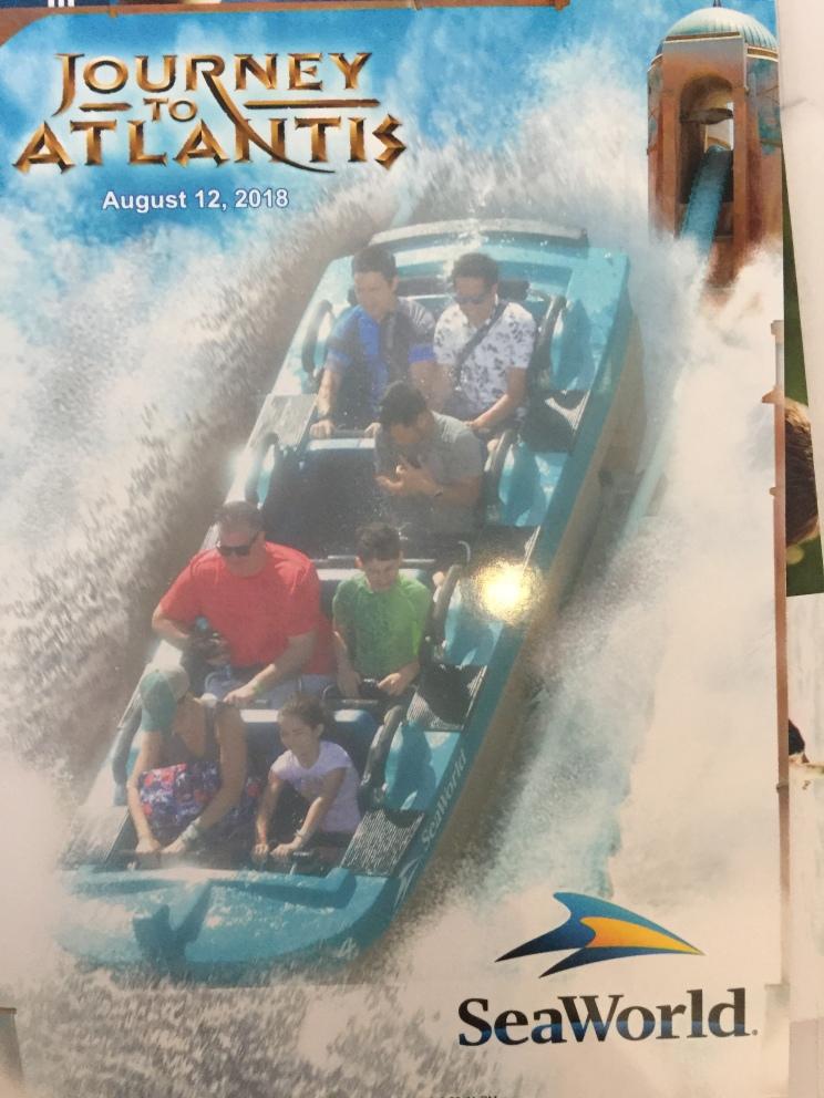 Journey to Atlantis. Even Mom went on!