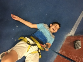 Having too much fun falling.