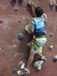 Rock climbing for P.E.