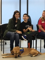 Participating on the Canine Companion's Graduate Panel.